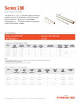 Series 280 Specs Linear (LVDT) Displacement Transducers