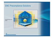 EMC Precompliance Solutions
