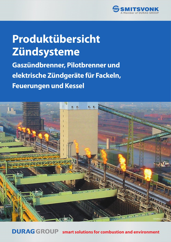 Gaszündbrenner - DURAG Sales & Service GmbH & Co. KG - PDF Katalog ...