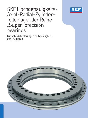 SKF Hochgenauigkeits-Axial-Radial-Zylinderrollenlager Super-precision