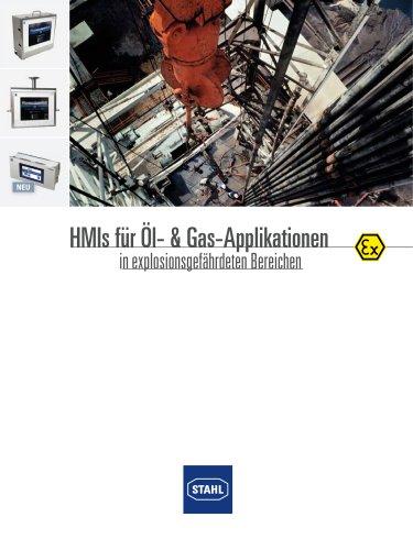 HMI Öl und Gas