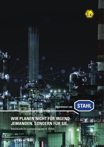 Individuelle Ex-Lichtplanung von R. STAHL