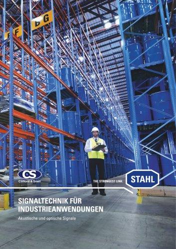 Signaltechnik für Industrieanwendungen - Akustische und optische