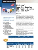 225XL Electraray� Hazardous Location LED Flashing ...