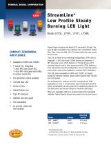LP3ML StreamLine� Low profile, Steady Burning LED Light