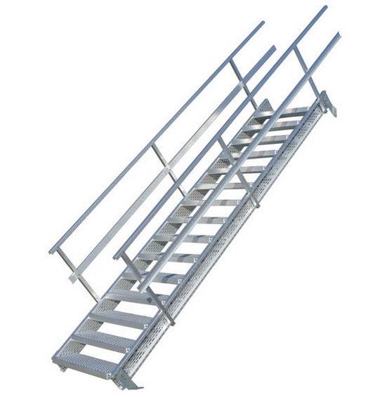 Häufig Gerade Treppe / Aluminium - Graepel DQ97
