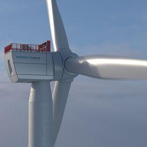 Direktantriebs-Windkraftanlage