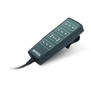 Fernbedienung mit E-Kabel / mit Knöpfen / für Elektrozylinder / für medizinische Geräte