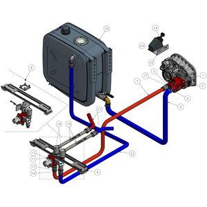 Hydraulikaggregat mit Hydraulikmotor