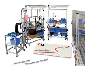 Montagearbeitsplatz / Kommissionier / zur Materialbearbeitung / für Montage / Demontage
