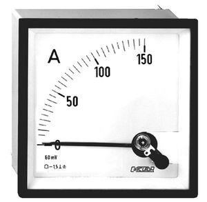 Analog-Amperemeter / DC / DIN-Schienen