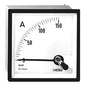 DC-Amperemeter / Analog / für Schalttafelmontage