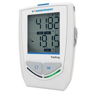 Datenlogger / Feuchtigkeit und Temperatur / drahtlos / mit LCD-Display / Klima
