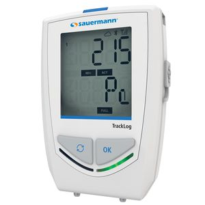 Druckdatenlogger / drahtlos / mit LCD-Display / Klima
