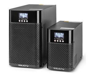 On-line-USV / einphasig / für Telekom-Anwendungen / mit LCD-Display