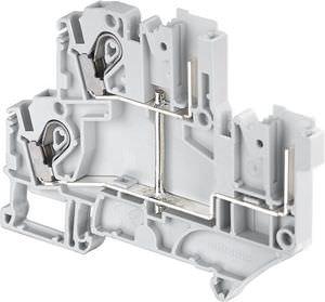 Schraubanschluss-Reihenklemme / steckbar / LED / Sicherung