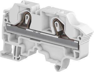Push-in-Reihenklemme / Zugfederanschluss / auf DIN-Schiene