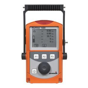 Gasdetektor / Multigas / tragbar / mit LCD-Display