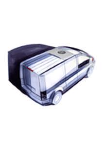 mobiles Kühlaggregat / für leichte Nutzfahrzeuge / Direktantrieb