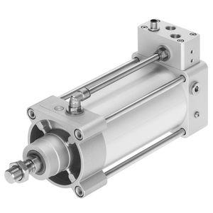 Antrieb mit integrierter Elektronik / Linear / pneumatisch / doppeltwirkend