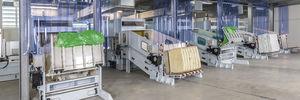 automatischer Ballenöffner / Wäge / für die Textilindustrie