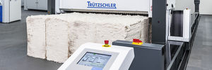 automatischer Ballenöffner / für die Textilindustrie