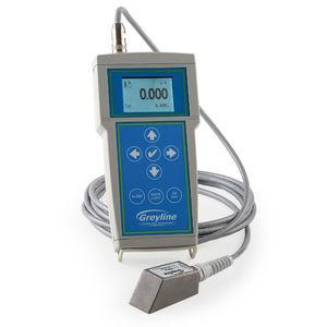 Doppler-Ultraschall-Durchflussmesser / für Flüssigkeiten / mit LCD-Display / digital