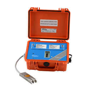 Ultraschall-Durchflussmesser / Abwasser / Dampf / mit Indikator
