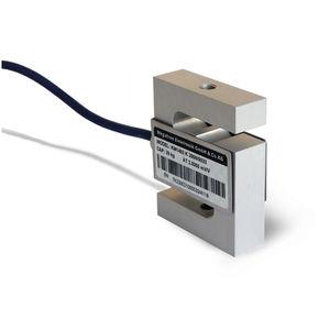 Wägezelle / Zug- und Druckkraft / S-förmig / Aluminium-Legierung / Dehnungsmessstreifen