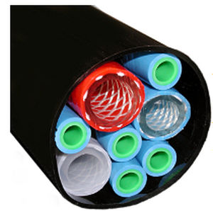 Sicherheitshülle / Rohr / für Hydraulikrohre / Polyurethan