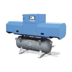 Luftkompressor / stationär / mit Elektroantrieb / Kolben
