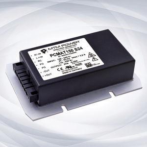 AC/DC-Stromversorgung / Einfachausgang / verkapselt / geschlossenes Chassis