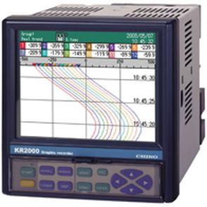 papierloser Rekorder / universell / für Industrieanwendungen / LCD-Grafikdisplay