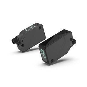 Optoelektronischer Sensor / mit Hintergrundausblendung