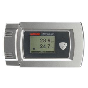 Datenlogger / Feuchtigkeit und Temperatur / mit PC-Schnittstelle / mit Display / für die Logistik