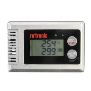 kostengünstiger Datenlogger / Feuchtigkeit und Temperatur / USB / mit LCD-Display