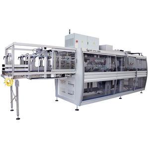 automatische Verpackungsmaschine / kontinuierlich / kompakt / Karton