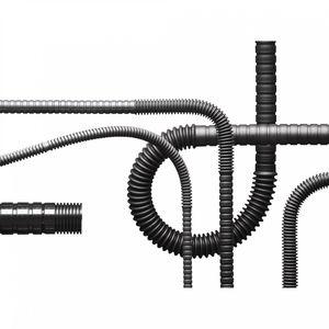 Schutzrohr / Kunststoff / elastisch / abriebfest