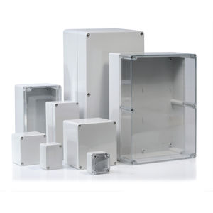 Einbaugehäuse / rechteckig / ABS / Polycarbonat
