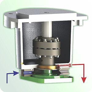 Aluminium-Antriebsglocke