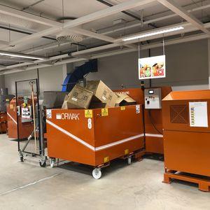 Brikettiermaschine für Müll