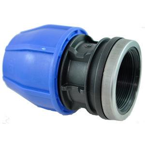 Innengewindeanschluss / Kompression / gerade / hydraulisch