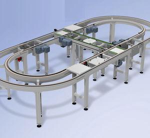 Transfersystem für Paletten / für Montagestraßen / für Industrieanwendungen / Positionierung