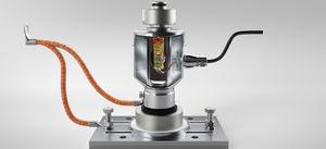 Druckkraft-Wägezelle / zylindrisch / Edelstahl / analog
