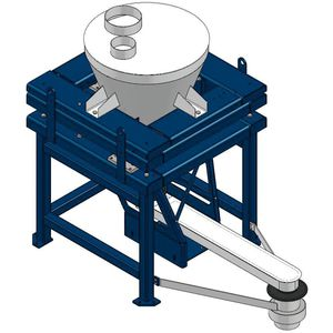Dosiergerät für die Lebensmittelindustrie / für die chemische Industrie / für die Pharmaindustrie / gravimetrisch