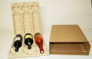 Verpackung für Wein