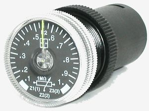 drehbarer Potentiometer / manuell / analog / Steuerung