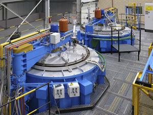 Kalibrierofen / Schacht / Verbrennungssystem / für das Luftumwälzung