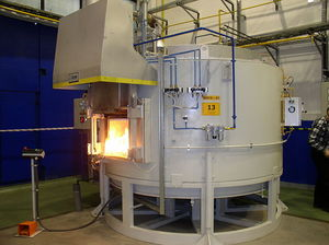 Vorwärmofen / Kammer / Gas / elektrisch