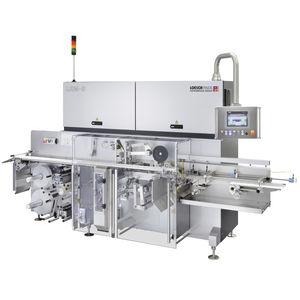 Falteinschlag-Verpackungsmaschine / automatisch / für Schokoladeprodukte / für die Backwarenindustrie